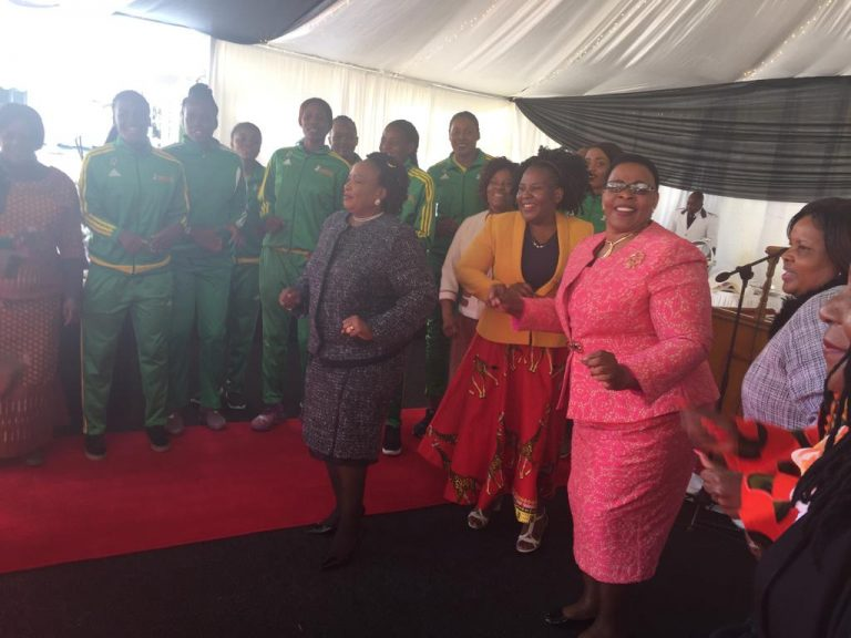 First Lady dancing