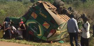 African Link coach Accident