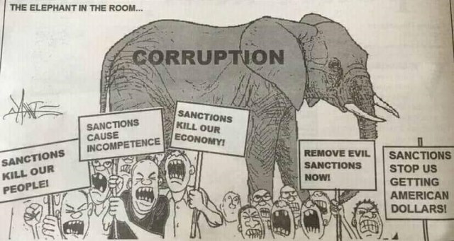 #SanctionsmMarch DEAL WITH THE ELEPHANT IN THE HOUSE FIRST: Western Countries
