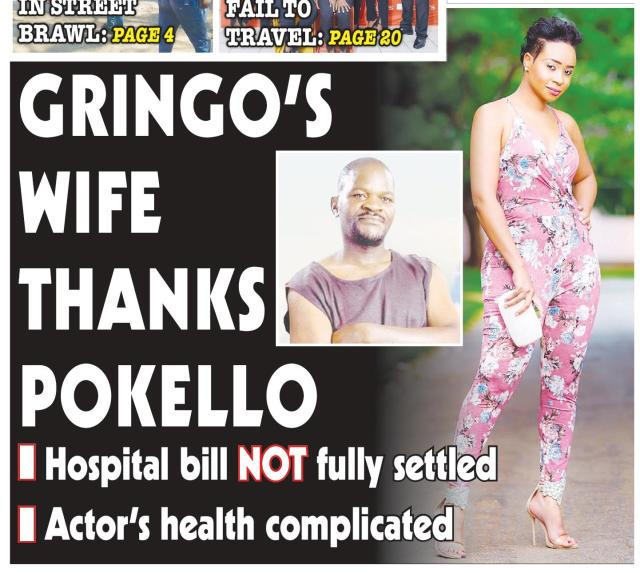 Gringo's Wife Hails Pokello: Full Story