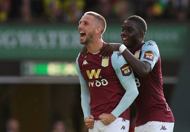 Aston Villa Wins 2-0 As Nakamba In Benched