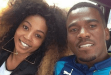 Photo of Kelly Khumalo and Chicco Twala's son in hot soup as police now know who killed Senzo Meyiwa