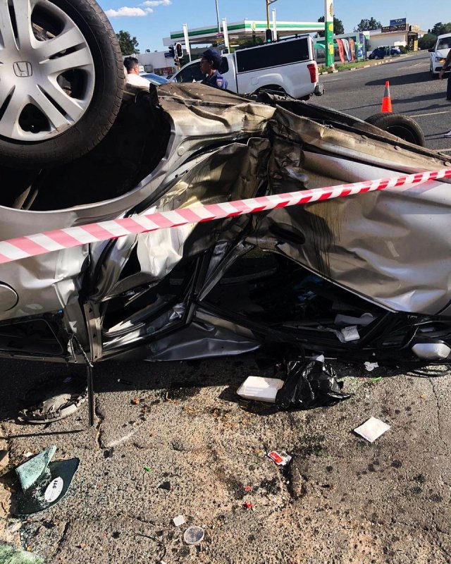 Thickleeyonce in ICU after a horrific car accident