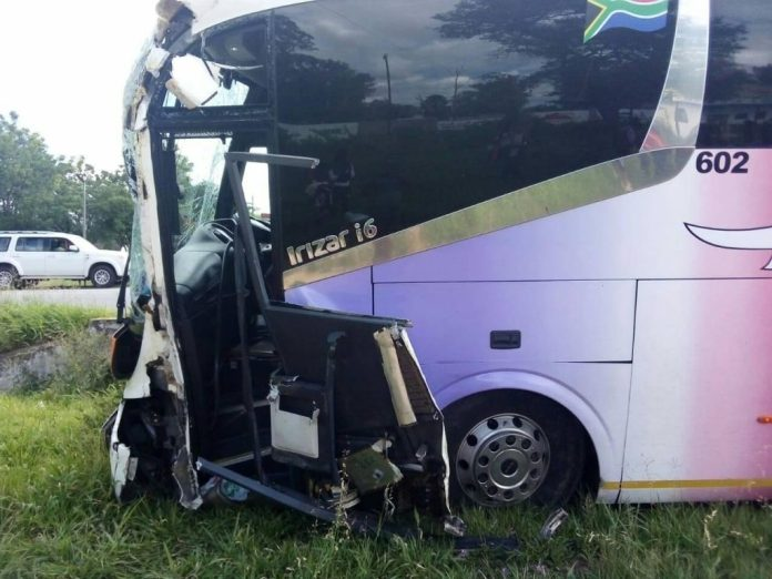 Intercape Bus Involved In Accident Just After Masvingo