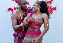 Wedding photos drop as Ghanaian couple marry in style
