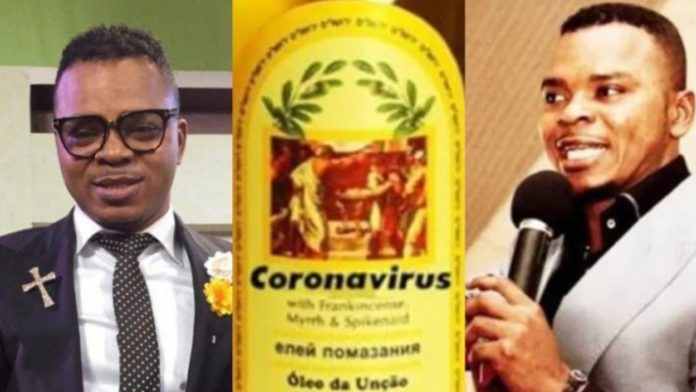 """Prophet Now Selling """"Holy Oil"""" Which 'Protects' Against Coronavirus"""