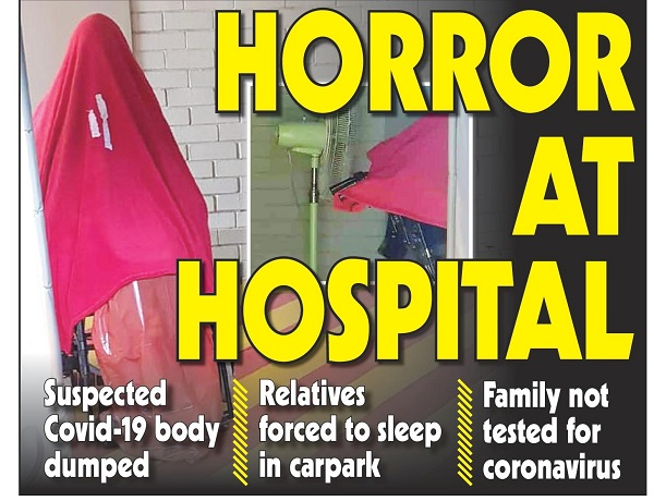 """Horror at the private hospital"""