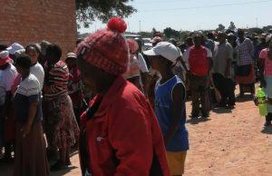 Fake Soldier Arrested At A Mealie-Meal Queue
