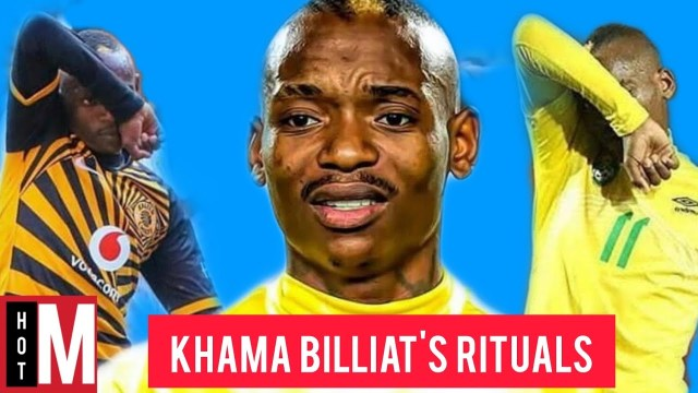 6 Rituals Khama Billiat Performs Before Every Game