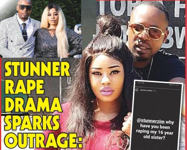 Stunner rape claims spark anger...wife deletes pictures on social media
