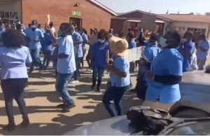 Nurses Stage Demonstration At Chitungwiza Hospital - Video
