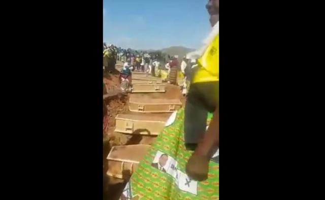 Reburial Of Heroes Of The Liberation Struggle In Manicaland - Video