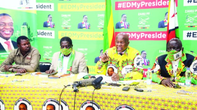 Zanu PF vows to taking the law into their hands