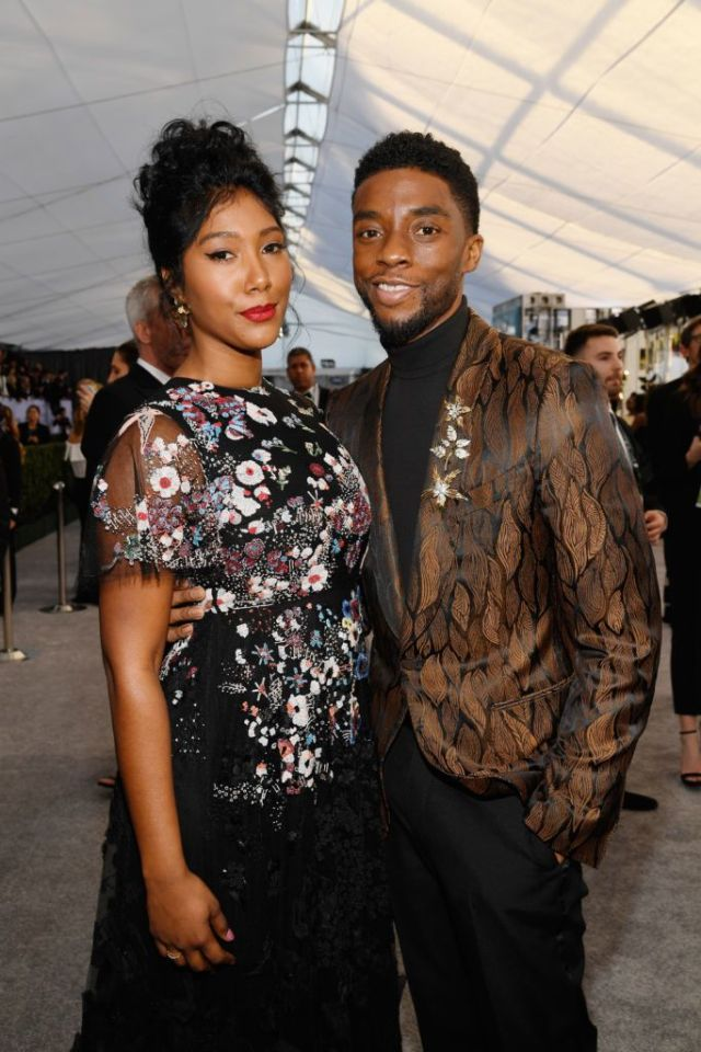 Chadwick Boseman Married His Wife Before He Died