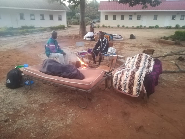 Quarantined Returnees Sleep Outside In Fear Of Covid-19 From New Arrivals