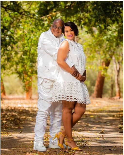 Chiyangwa Sends Tongues Wagging After Taking Photos With Mysterious Lady