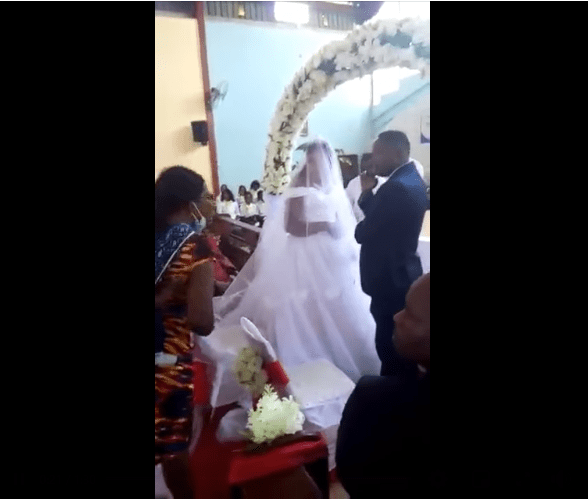 Married Man Caught, Humiliated on the alter as he tries to marry another woman