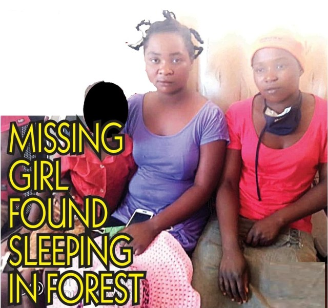 Missing 7 year-old Girl Found Sleeping In Forest!