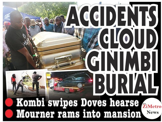 Accidents Cloud Ginimbi's Funeral!
