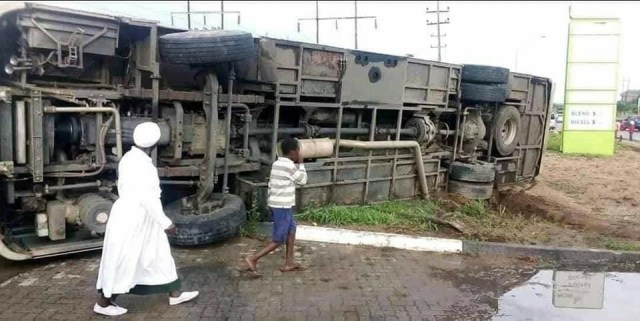 Another Zupco Bus Crashes!
