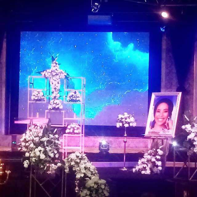 Drama at Mshoza's funeral as her husband gets beaten up by her sisters
