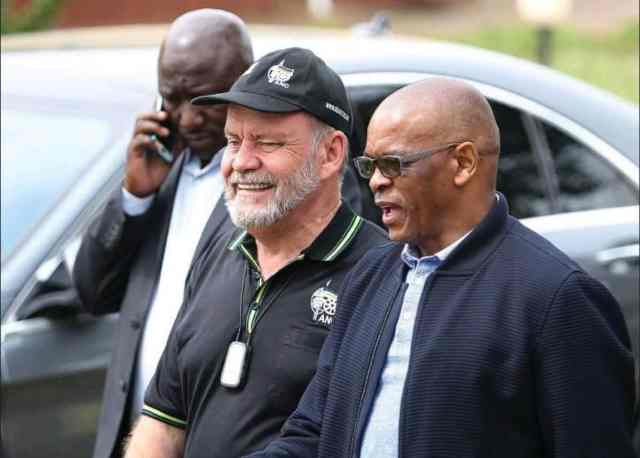 Ace Magashule: 'There is a political process unfolding here' – Niehaus