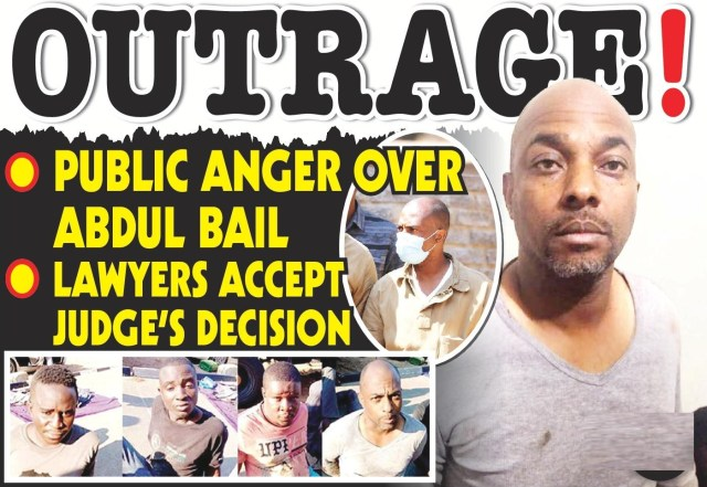 Public Angered Over Serial armed robber Musa Taj Abdul bail