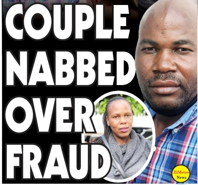 couple nabbed over fraud!