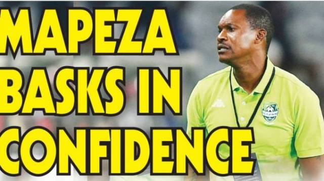 Mapeza happy with his boys ahead of their CAF Confederation Cup game