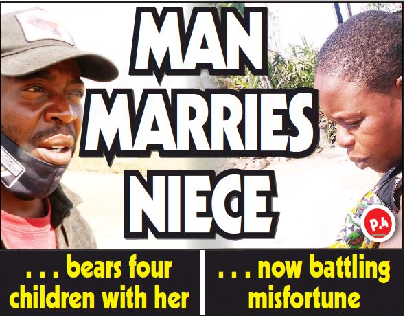MAN MARRIES NIECE…bears four children with her