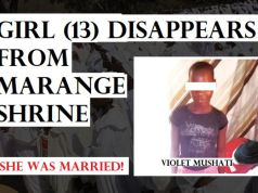 Girl (13) disappears from Marange shrine; church says 'high priest' Noah Taguta opposed to child marriages
