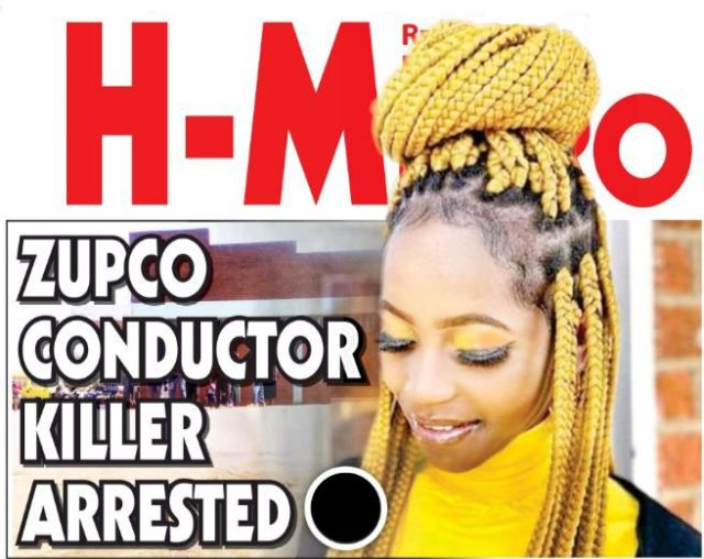 ZUPCO CONDUCTOR KILLER ARRESTED - '. . . HE WAS SECURITY GUARD'