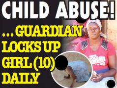 Child Abuse! Guardian locks 10 year-old DAILY