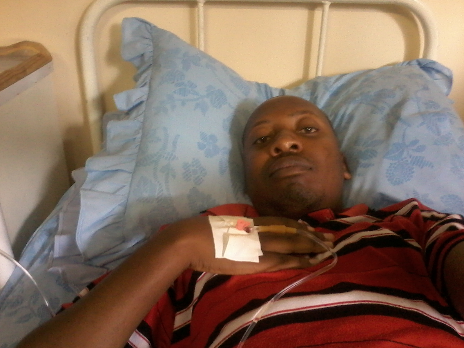 thats me hospitalised whilst my blog made money