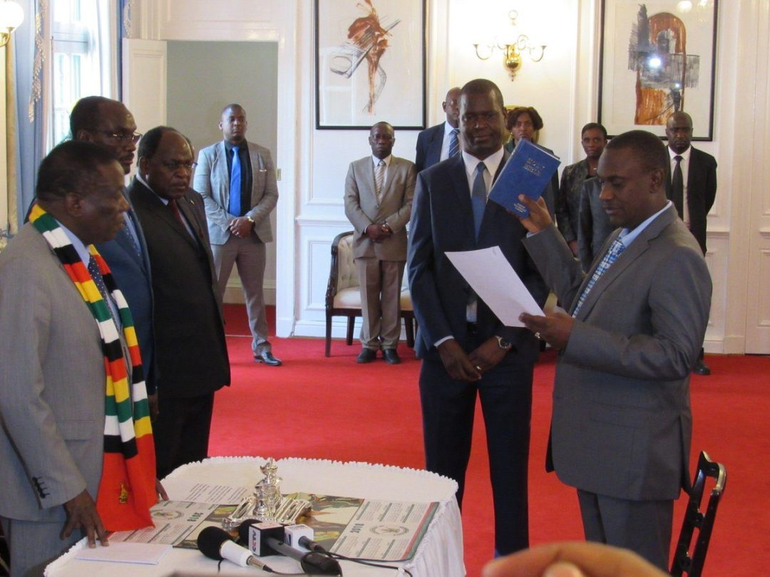 Image result for Mnangagwa and Owen Ncube