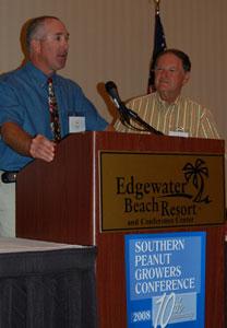 Southern Peanut Jay Williams receives Valor Award