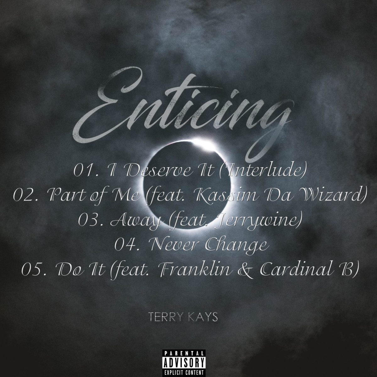 Terry Kays Enticing EP Tracklist