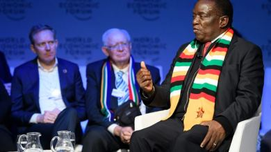 Photo of President Mnangagwa addresses white people in South Africa