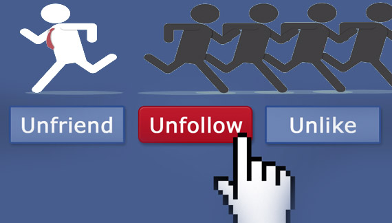 A Proustian View on Being Unfollowed