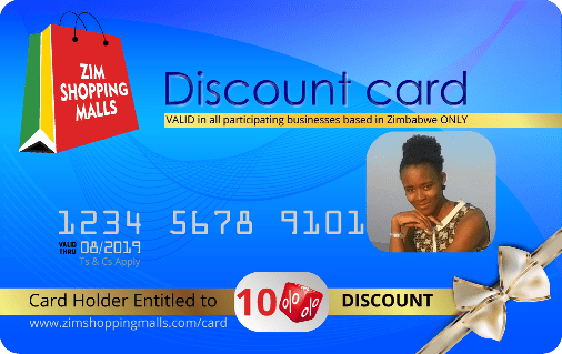 ZimShoppingMalls VIP Discount Card 2018-19 VIP