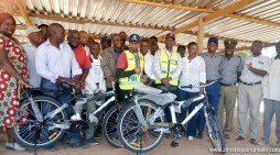 BCCC Donates 2 Brand New Bicycles To Sally Mugabe Police Post
