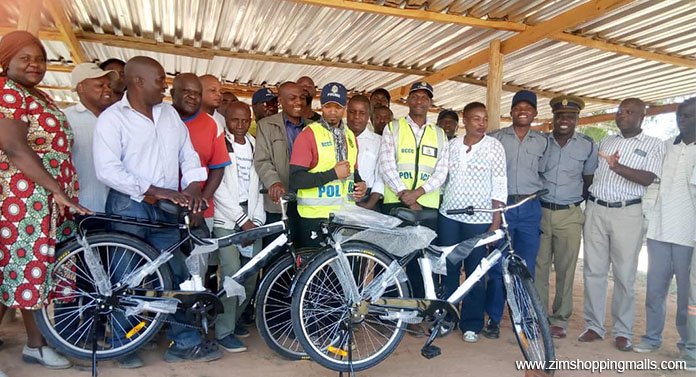 BCCC Donates 2 Brand New Bicycles