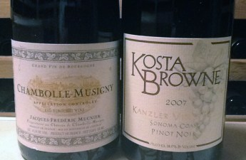 Kosta Browne is not Burgundy