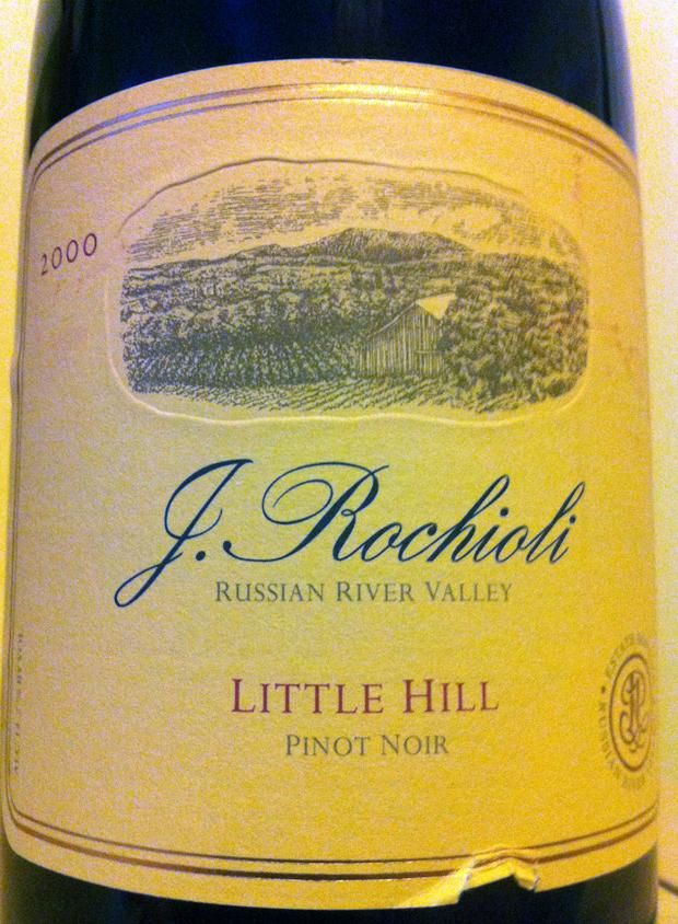 Rochioli 2000 Little Hill Pinot Noir