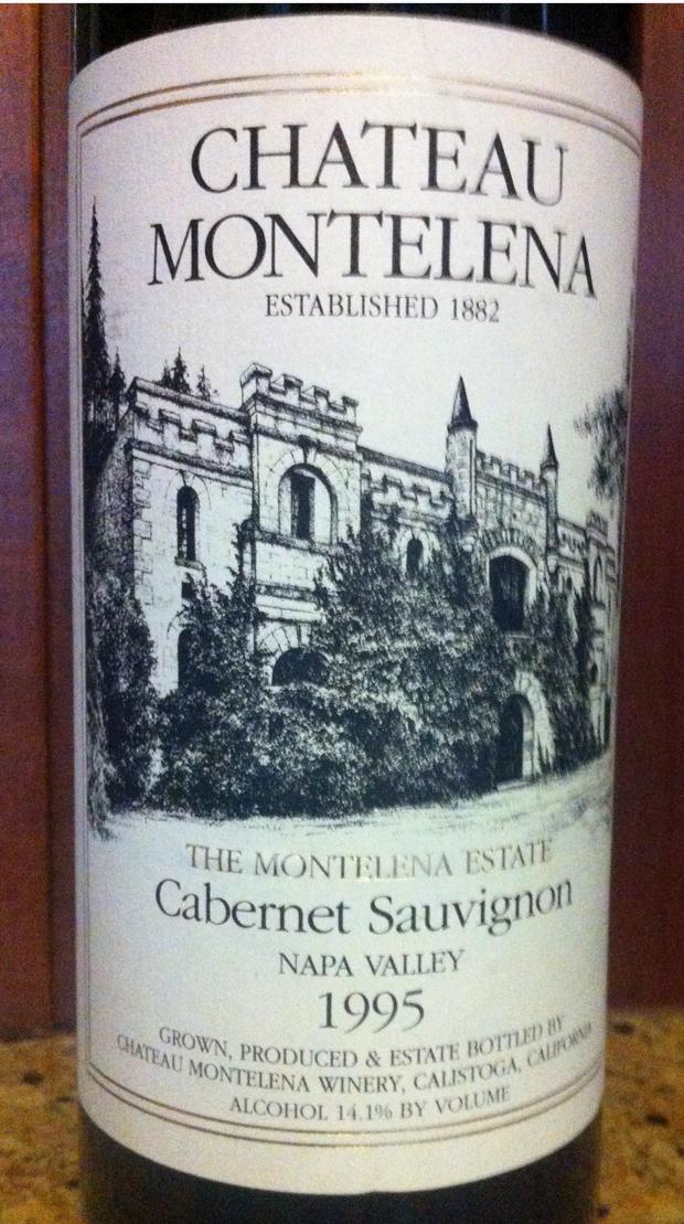 1995 Chateau Montelena Estate Cabernet Sauvignon