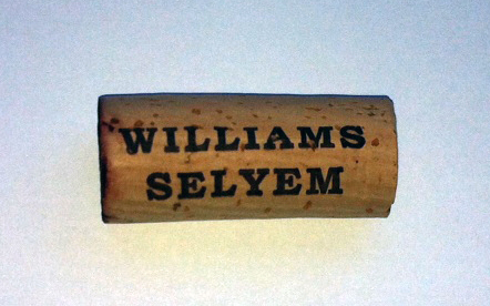 Williams Selyem cork