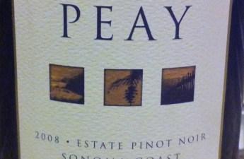 2008 Peay Pinot Noir