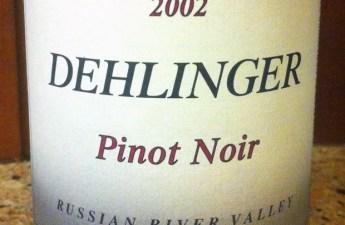 2002 Dehlinger Estate Pinot Noir