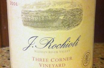 2001 Rochioli Three Corners Pinot Noir