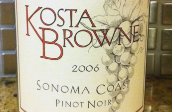 2006 Kosta Brown Sonoma Coast Pinot Noir